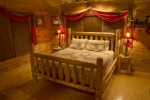 Oasis Log Cabin Bedroom