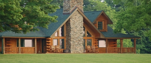 Manufactured homes log cabin style michigan home photo style for Cottage builders in michigan