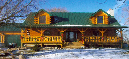 Oasis Log Homes Floor Plans