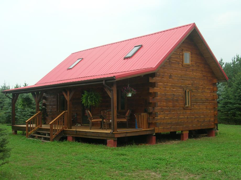 Small log home designs find house plans for Tiny cabin designs